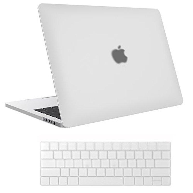 Funda transparente de cristal mate para portátil, para Macbook Pro 13, 15,...
