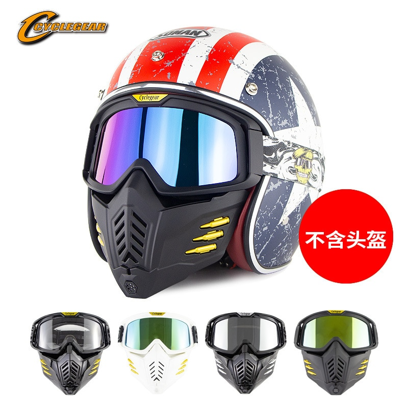 New motorcycle helmet goggles, sand proof tactical protective mask, goggles, riding glasses cg18 enlarge