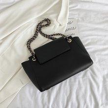 Large PU Leather Crossbody Bags for Women 2020 Branded Trend Women's Trending Fold Designer Handbags