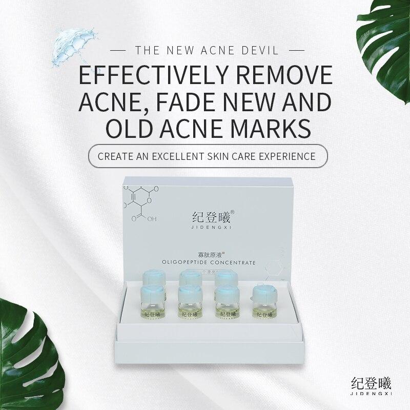 Ji dengxi oligopeptide solução de estoque acalma e repara a pele e fortalece a barreira da pele