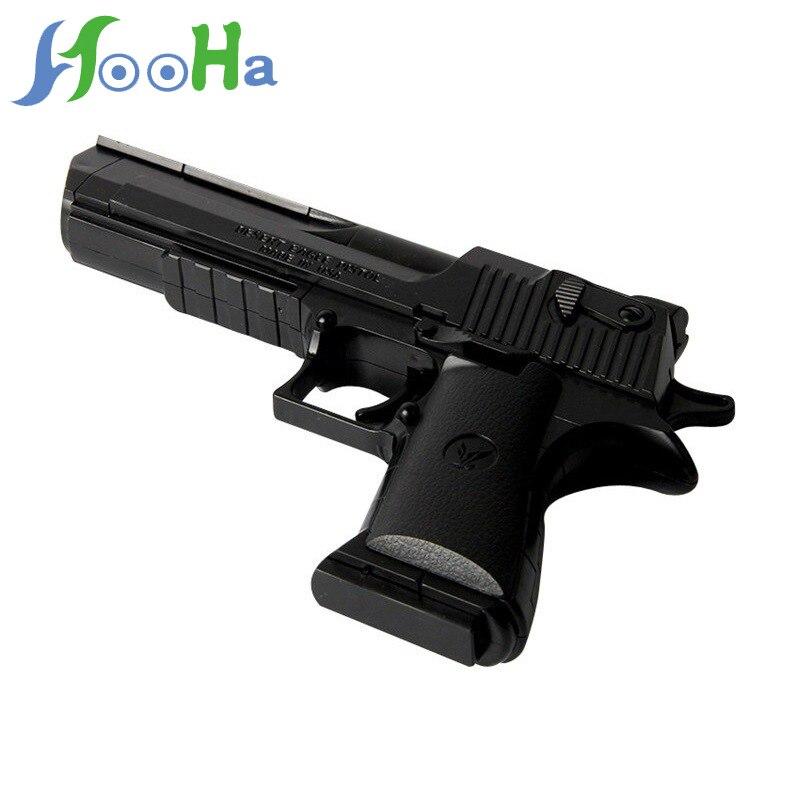 Gran oferta de bloques de construcción de juguete ensamblados, pistola de ensamblaje, pistola para disparar e insertar accesorios de pistola de juguete para niños, regalos de cumpleaños