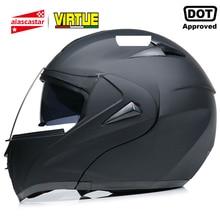 2020 New Flip Up Motorcycle Helmet Motorbike Modular Dual Lens Moto Motocross Helmet Crash Full Face Helmets Casque Moto Casco
