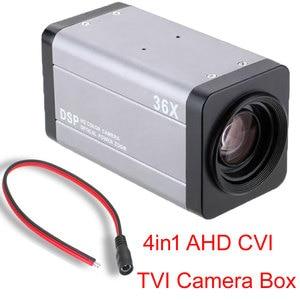 Sony 307 chip 2MP 36X Optical Zoom Camera AHD TVI CVI CVBS 4-In-1 Auto Focus 4.7-94mm Lens CCTV Camera Box
