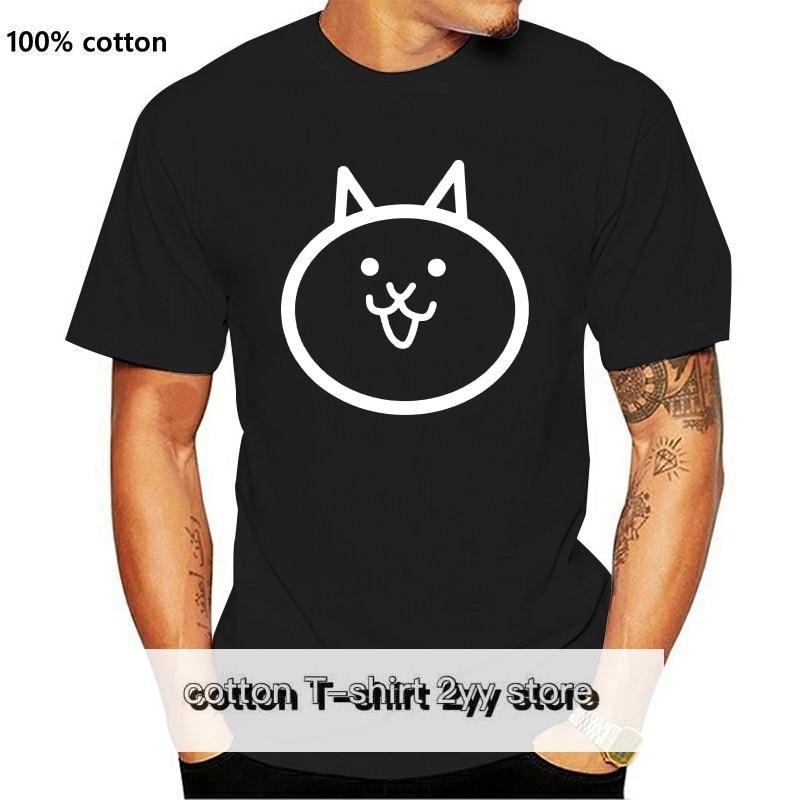 Camiseta de manga corta Unisex camisa de gato de batalla oscuro
