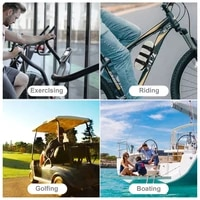 p82f audio fixed strap cross border mountain bike bottle cage golf cart speaker with cup holder