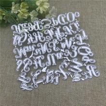 Alphabet Letter craft Metal Cutting Dies Stencils For DIY Scrapbooking Decorative Embossing Handcraft Die Cutting Template