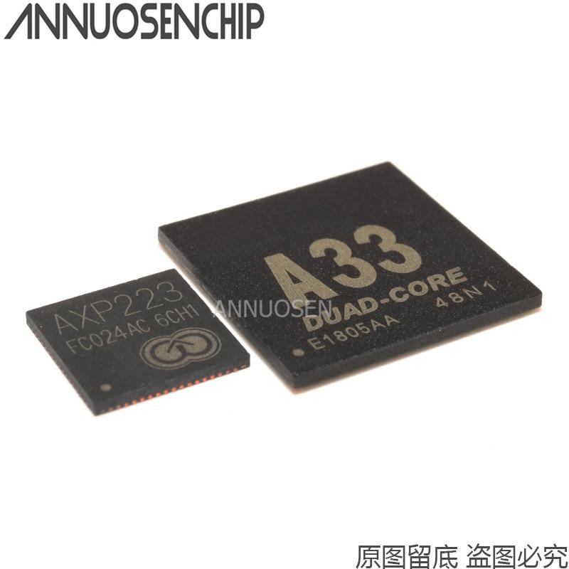 A33 CPU A33 CHIP + IC poder AXP223