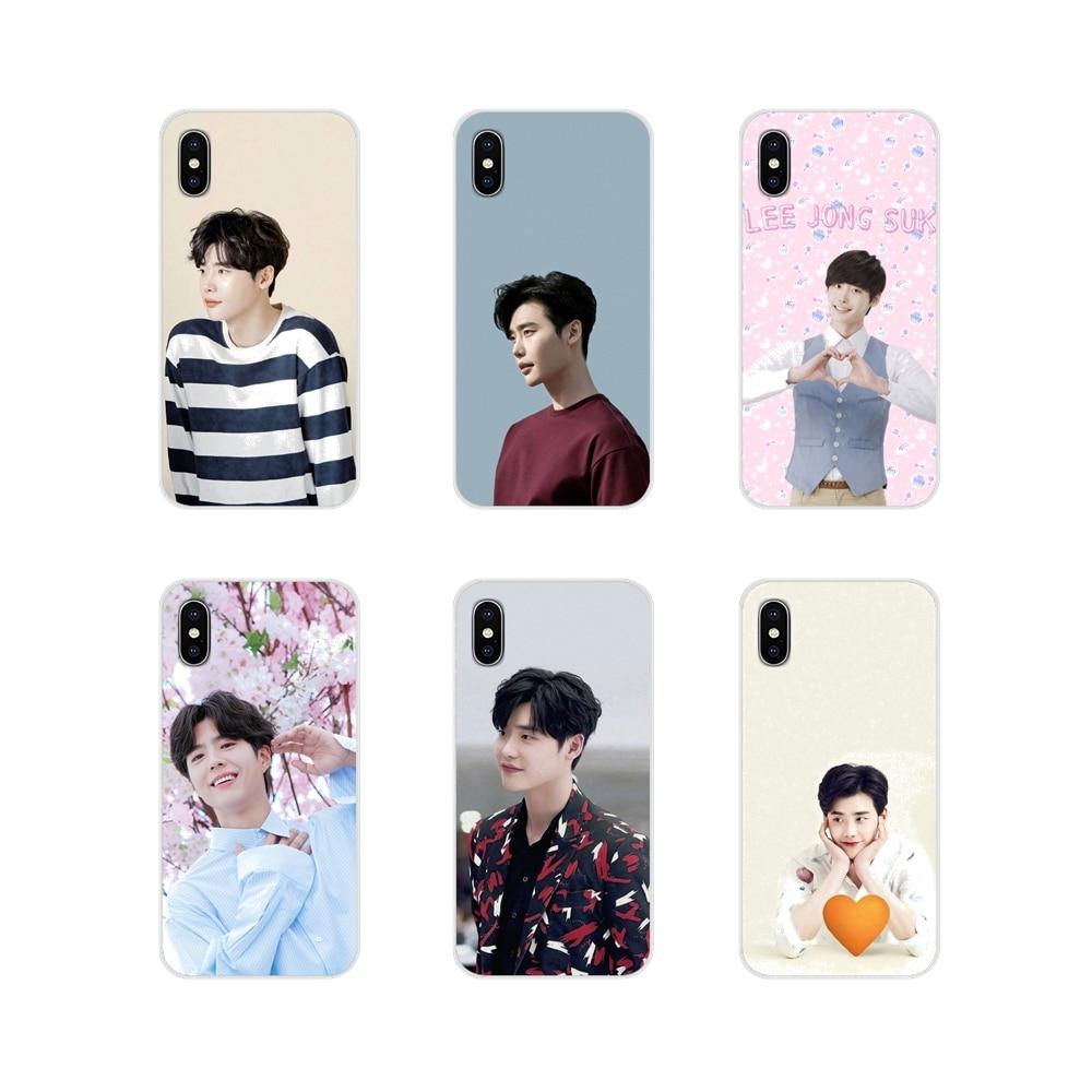 For Xiaomi Redmi Note 3 4 5 6 7 8 Pro Mi Max Mix 2 3 2S Pocophone F1 Accessories Phone Shell Covers Lee Jong Suk