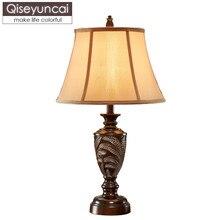 Lampe de table de salon de style européen américain rétro luxe personnalité créative canapé côté plusieurs grands lits de décoration de chambre