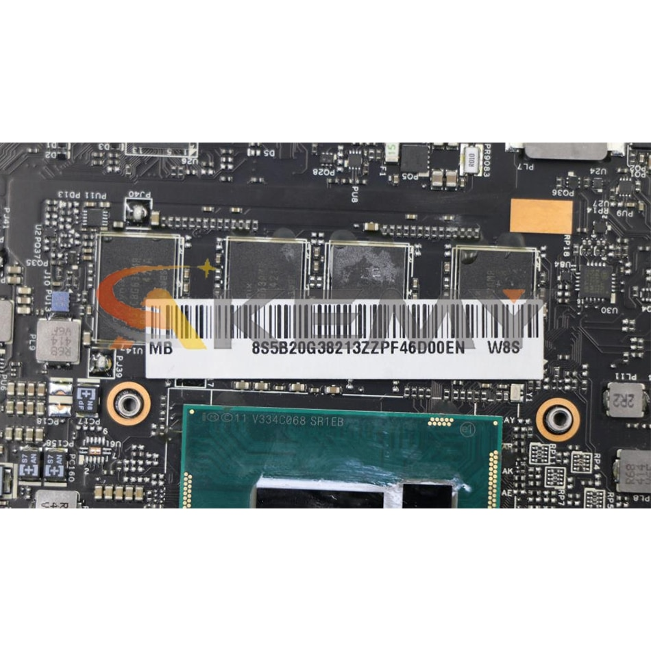 Akemy NM-A074 Motherboard For Lenovo YOGA 2 PRO YOGA2 PRO 13 Laptop Motherboard CPU I7 4510U 8G RAM 5B20G38213 100% Test Work