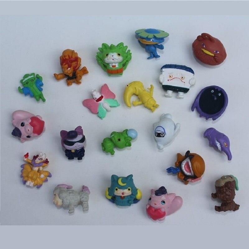 50PCS/lot Cartoon Anime Action Figures 2cm Yokai Watch Miniature Capsule Dolls Kids Toys Hobby Collections игровой набор yokai watch медаль b5946