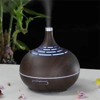 400ml Diffuseur Dhuile Essentielle Darome electrique Ultrasonique Dair humidificateur LUMIERE LED fabricant de brume de diffuseur Darome pour la maison