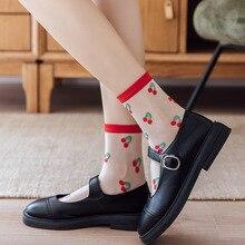 ผู้หญิงสบายๆถุงเท้า2021ฤดูใบไม้ผลิสาวใหม่สีแฟชั่นผู้หญิงยาวนุ่มถุงเท้าผู้หญิง Breathable จุดโปร่...
