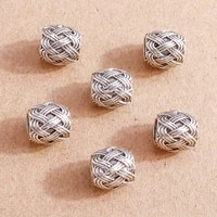 15pcs tibetan silver color alloy charms beads fit original handmade bracelets necklaces diy crafts jewelry making accessories