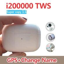 새로운 i200000 TWS 슈퍼 복사 11 공기 pro3 블루투스 이어폰 8D 슈퍼베이스 이어폰 PK H1 i200 i5000 i90000 프로 i100000 TWS