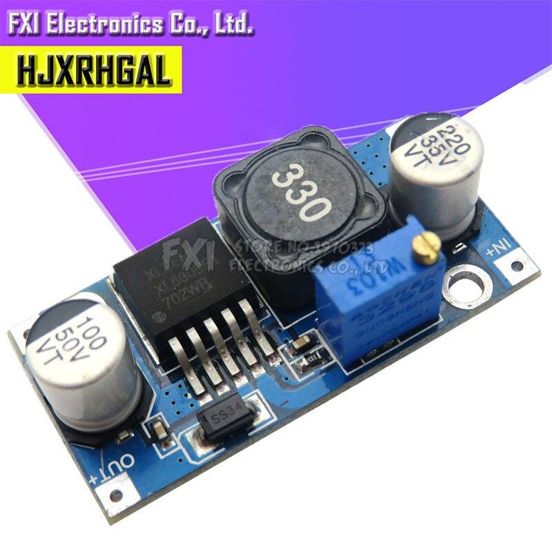 2 uds XL6009 Módulo de refuerzo de DC-DC la salida del módulo es ajustable Super LM2577 Módulo de elevación