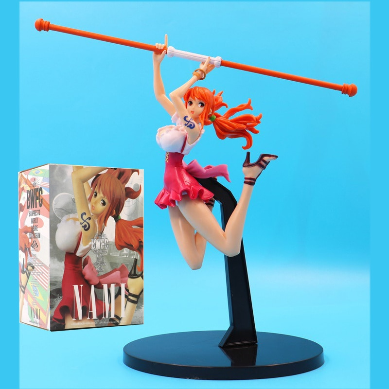 Traje de baño de lucha de Anime One Piece nefeltarvivi Ver. Figura de acción de Nami Boa Hancock chicas Sexy figura PVC juguetes de modelos de colección