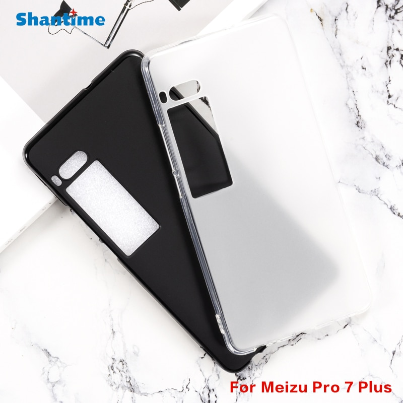 For Meizu Pro 7 Plus Gel Pudding Silicone Phone Protective Back Shell For Meizu Pro 7 Plus Soft TPU