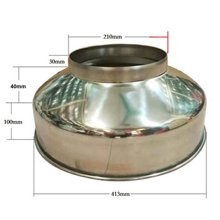 سميكة الفولاذ المقاوم للصدأ قمع كبيرة قطرها النبيذ تسرب مع شاشة التصفية المنزلية المطبخ الصناعية قمع كبير