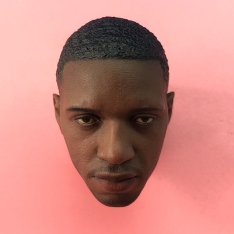 In Stock 1/6 Scale Male Figure Accessory Basketball Star Tracy McGrady Head Sculpt Carved Model For 12
