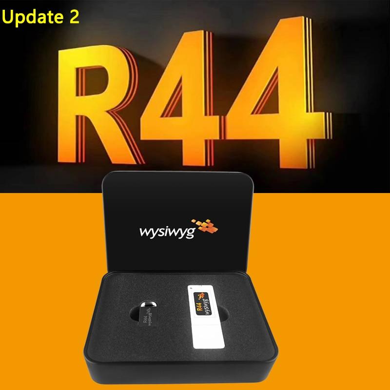 Wysiwyg R44 Update2 Lighting Interface Software Disco DJ DMX light  perform dongle Stage Light Effect