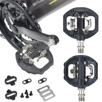 mountain bike pedals pair with cleats self locking mountain clipless pedals mountain bike parts fit for shimano looking keor