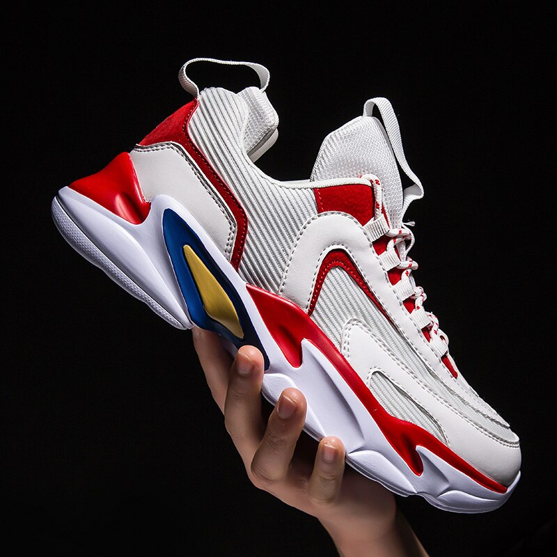 Zapatos deportivos de moda para hombre, zapatillas de deporte de otoño, zapatos transpirables de malla para hombre, cómodos zapatos deportivos para hombre, talla 39- 45
