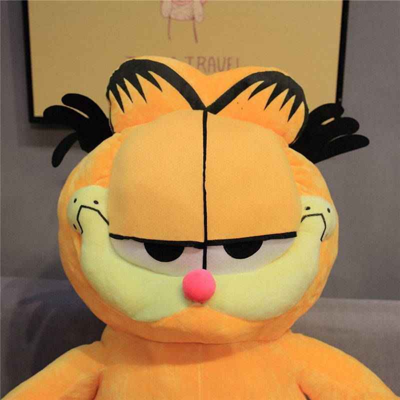 20-80CM Kawaii Fat Cat Plush Toys Stuffed Animal Dolls Funny Plush Garfield Cat Toy Cartoon Soft Doll for Kids Birthday Gift  - buy with discount