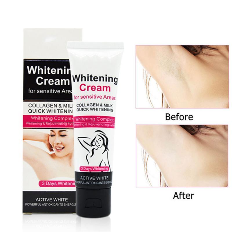 Summer 7-Day Skin Armpit Whitening Cream Skin Lightening Bleaching Cream Underarm Dark Skin Whitening Intimate Body Lotion TSLM2