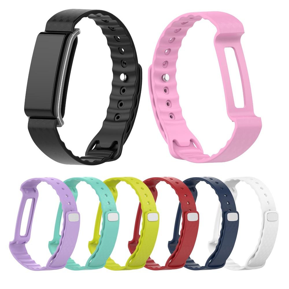 Correa de muñeca para Huawei Honor A2, reloj de silicona, correa de reloj, Correa deportiva, accesorios de repuesto para Fitness