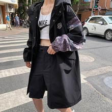 Long Coats and Jackets for Women Fall and Winter Clothing Womens Korean Fashion Trench Coat and Over
