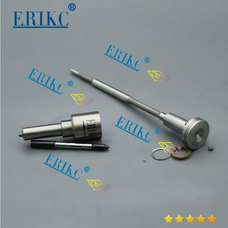 Kits de reparación de inyector diésel ERIKC con boquilla DSLA140P862 F00VC01005 anillos de sellado, bola para 0445110021 0445110056 0445110146