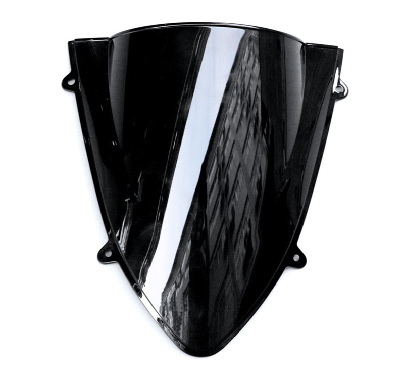 Clear Black Motocicleta Pára Brisas Fit For KAWASAKI Ninja 250R EX250 2008 2009 2010 2011 2012