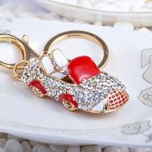 Manhui new 5D DIY diamond painting keychain fashion cartoon cute car keychain handmade diamond mosaic bag pendant finished
