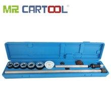 """MR CARTOOL 10 Uds. Universal motor rodamiento del árbol de levas herramienta Cam rodamiento Instalación y Kit de eliminación rango de 1,1 25 """"a 2,69"""""""