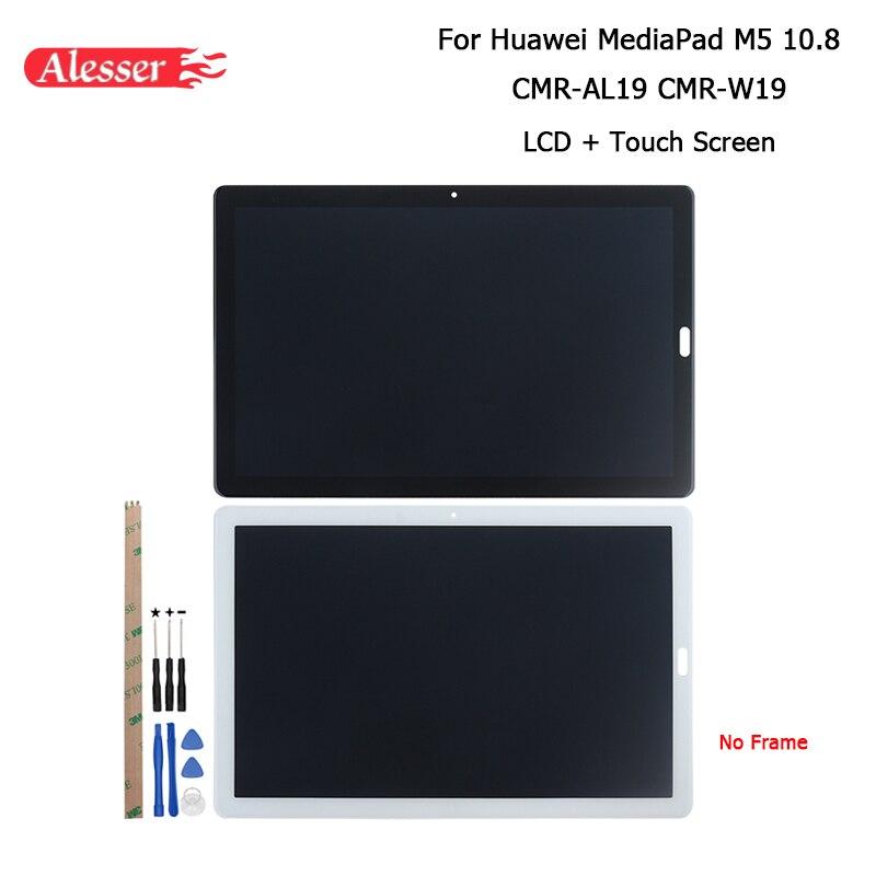 """Alesser para Huawei MediaPad M5 10,8 CMR-AL19 CMR-W19 pantalla LCD y piezas de reparación de pantalla táctil con las herramientas y adhesivo 10,8"""""""