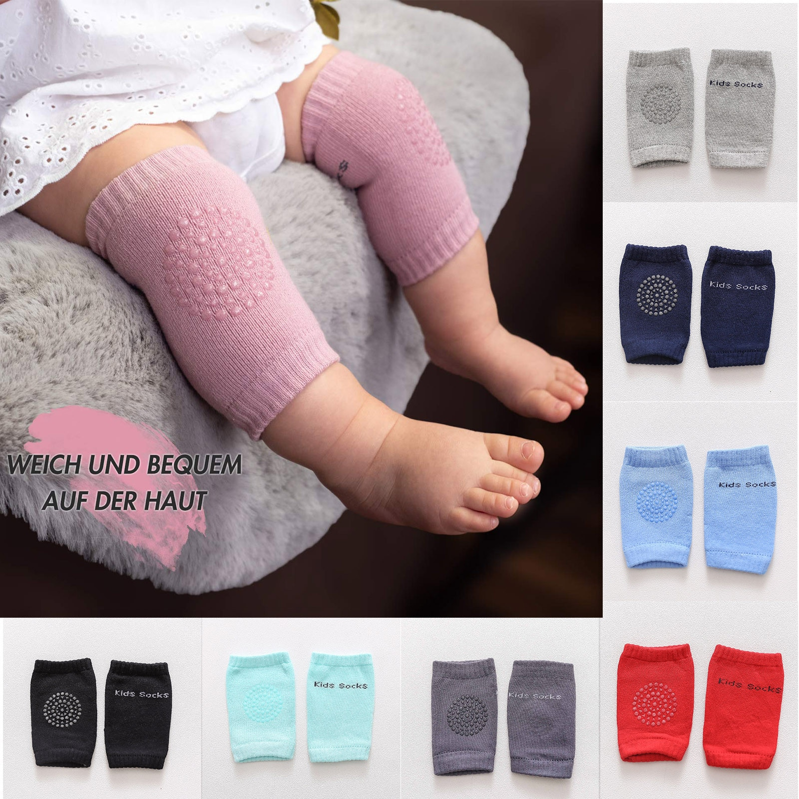Free Shipping Toddler Kids Baby Safety Sport Crawling Elbow Cushion Knee Pads Protective Gear Rodill