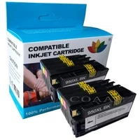 8 pack compatible ink cartridge for hp950xl hp951xl officejet pro 8100 8600 8610 8615 8600e 8600plus printer hp950 hp951