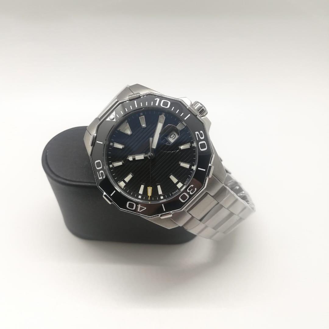 جديد رجالي ساعة مقاوم للماء حركة ميكانيكية أوتوماتيكية الفولاذ المقاوم للصدأ الياقوت الزجاج رجل ساعات المعصم الذكور AAA +