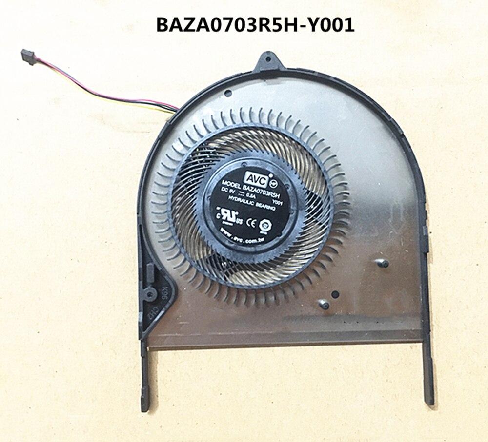 جديد الأصلي كمبيوتر محمول/محمول وحدة المعالجة المركزية مروحة تبريد ل Asus ZenBook الوجه 14 UX461 UX461U UX461UN UX461UA AVC BAZA0703R5H-Y001