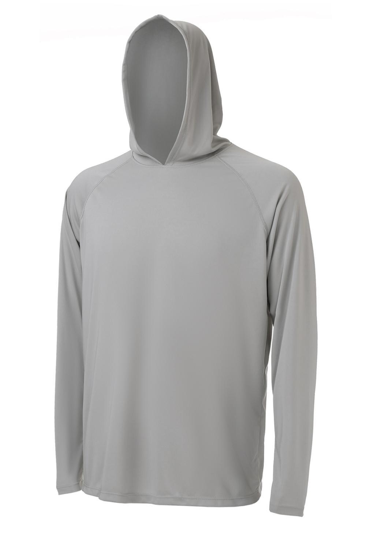 Camisetas con capucha para hombre de manga larga UPF 50 + protección solar