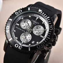 Luxury Mens Watch TISS Scastar 1853 Sport Quartz Wristwatches All Functional Designer Stopwatch Chro