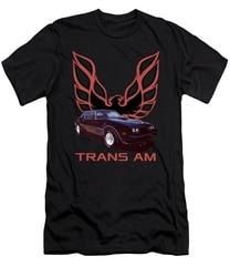 Camiseta masculina tshirt 1978 preto trans am masculina camiseta impressa camiseta