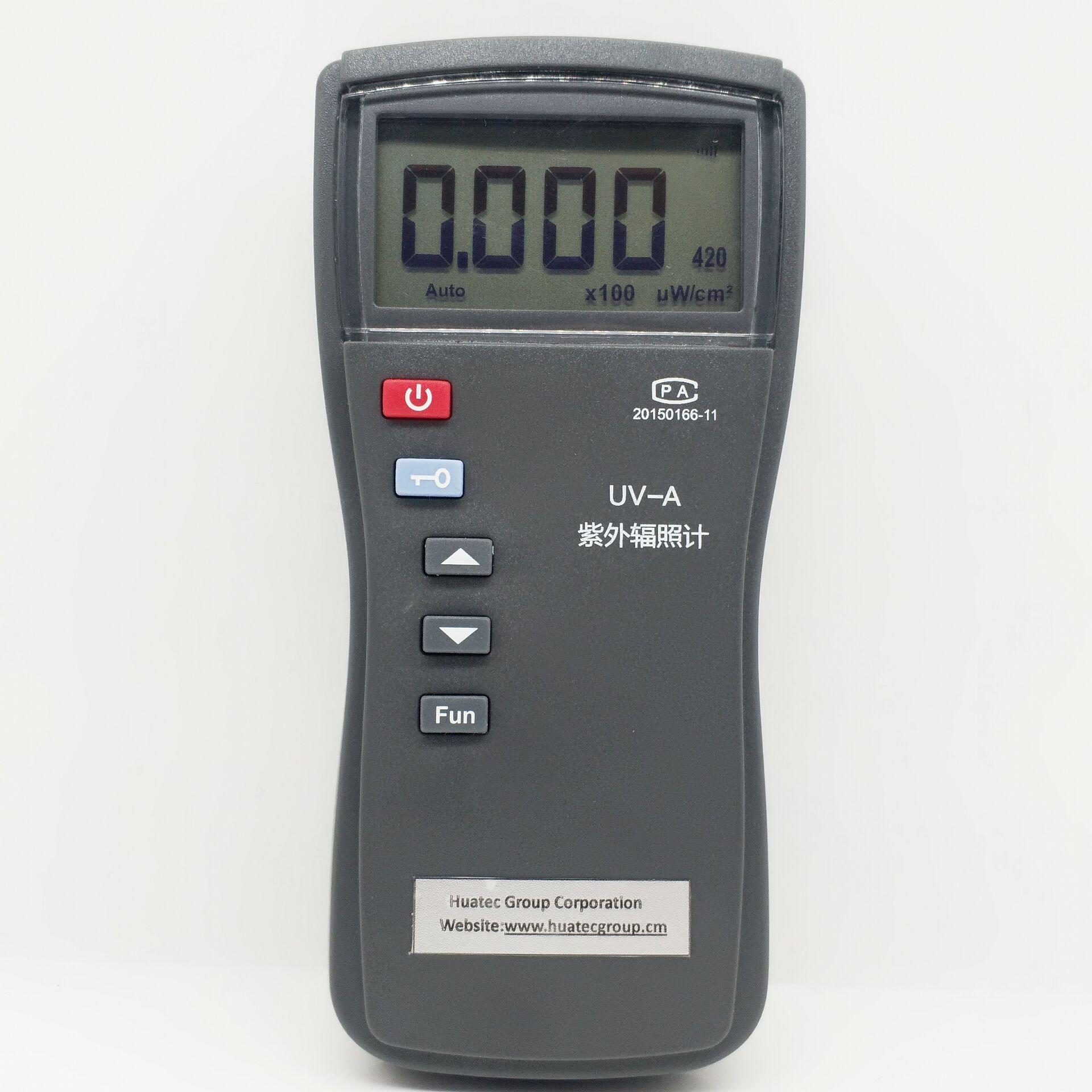 HUATEC 2021 new Double probe Ultraviolet Intensity Meter UV Radiometer UV radiometer UV365&UV420 enlarge