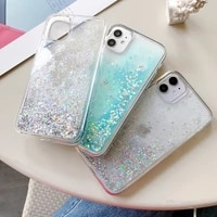 glitter star water liquid phone case for iphone xs max x xr iphone 7 8 6 6s plus iphone 11 pro max luxury bling soft cover case