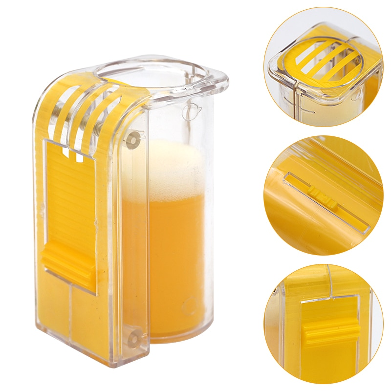 1PCS Bee Queen Marking Cage Marker Catcher Plastic Catcher One Handed Marker Bottle Plunger Beekeeper Tool Beekeeping Equipments недорого