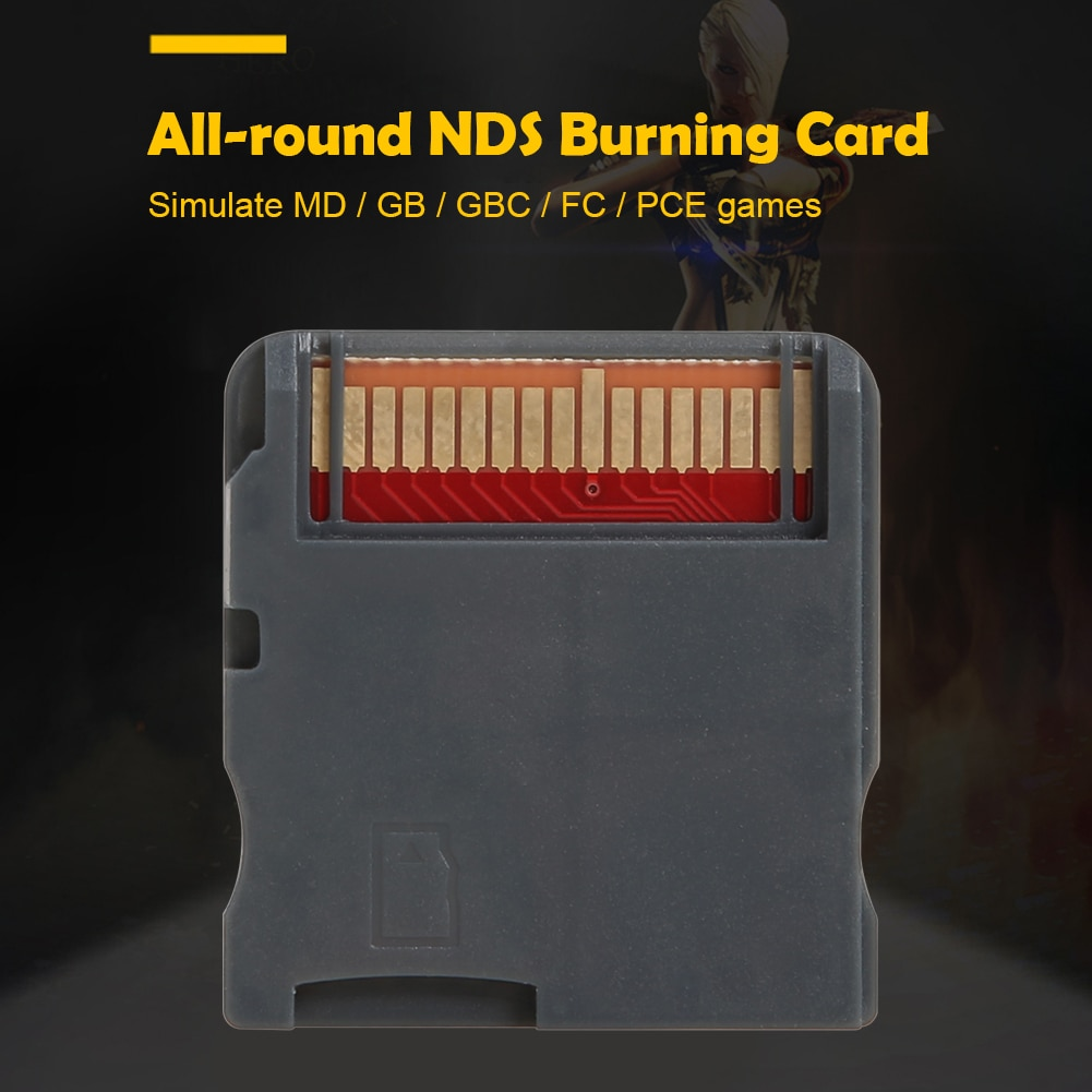 R4 Video Games Memory Card Download By Self 3DS Game Flashcard Adapter Support for Nintend NDS MD GB GBC FC PCE
