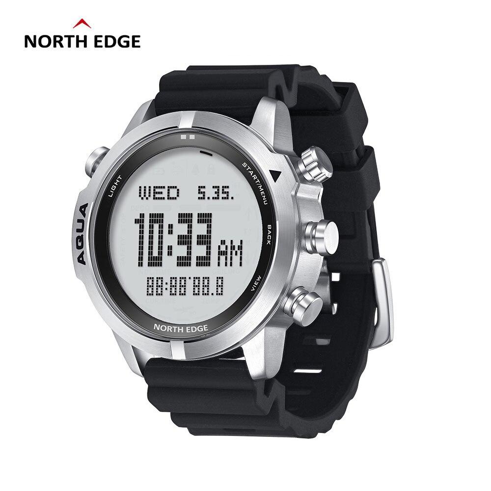 Norte do Aqua Relógio de Mergulho Relógios ao ar Bússola para Huawei Borda Masculino Mergulho Digital 50m Livre Altímetro Android Ios Ndl