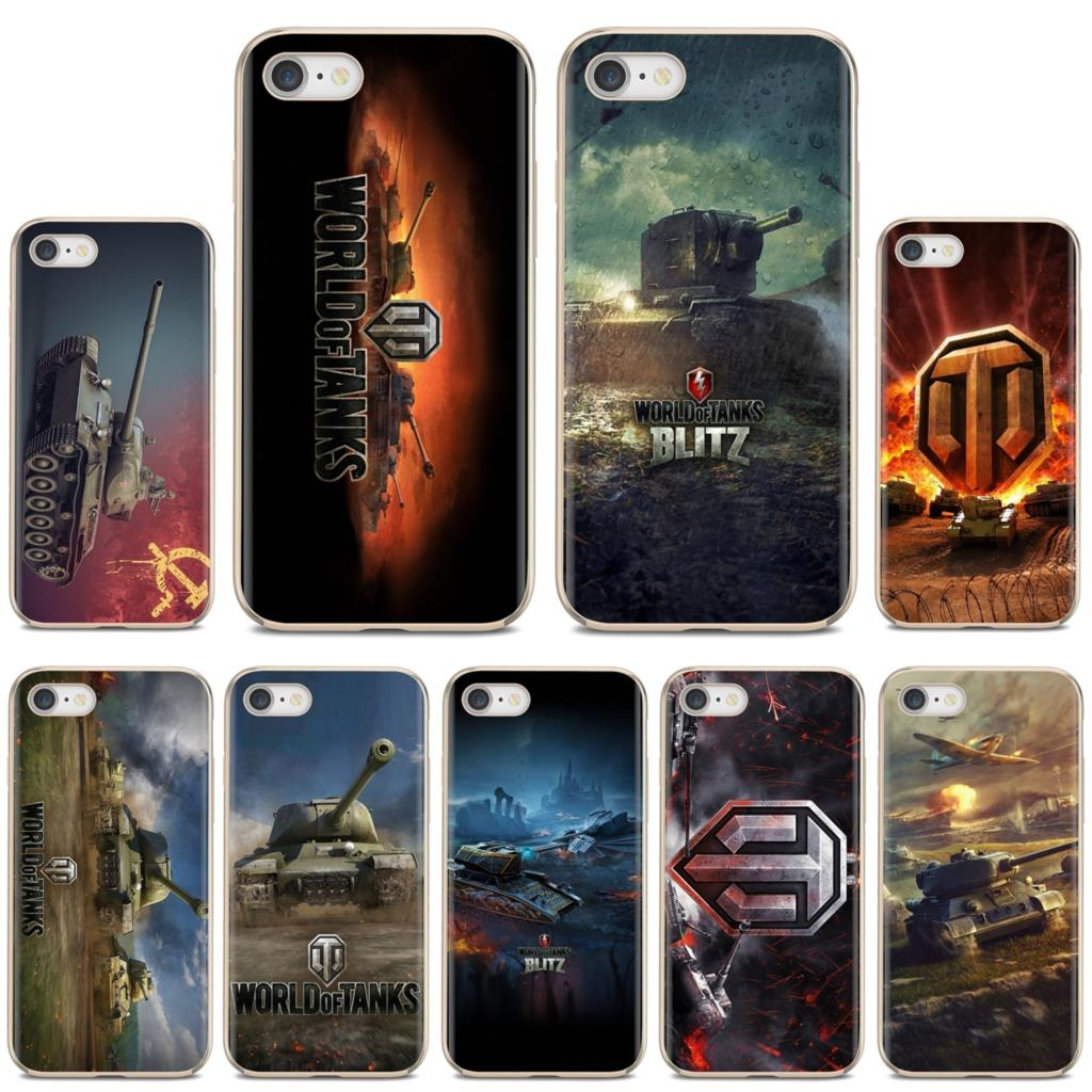 world of tanks game WOT art Logo Soft TPU Cover For Huawei Y6 Y5 2019 For Xiaomi Redmi Note 4 5 6 7