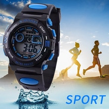 Smart Watch Unisex Multi Function Alarm Clock Student Waterproof Sports Fashion Electronic Watch 202